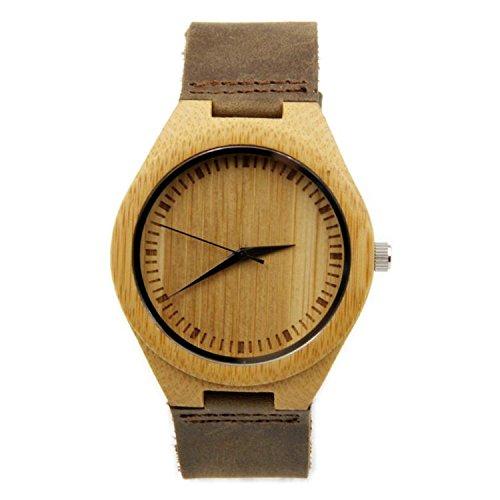 GDS Das neue Holz-Uhren / Unisex / natürliche Holz / Bambus / paar Uhr / Leder Armband / Geschenk / tragbar / Zubehör , men
