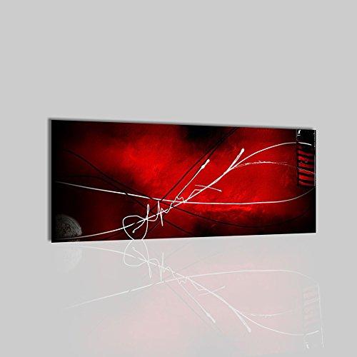 quadri-moderni-astratti-dipinti-a-mano-su-tela-rosso-nero-basey