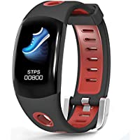 LATITOP Waterproof Fitness Tracker Watch with Heart Rate Monitor, Pedometer, Calorie Counter, Sleep Monitor, Stopwatch, 3D Color Screen Activity Tracker for Kids Women Men