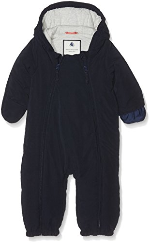 Petit Bateau Baby-Jungen Schneeanzug Combinais Pilote, Blau (Abysse 13), 1 Monat (Schuhe Jungen Petit)