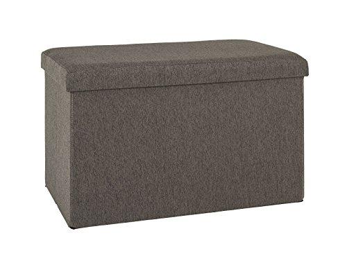 6er Set Sitzboxen bzw. Faltboxen in anthrazit; Maße (B/T/H) in cm: 65 x 40 x 40