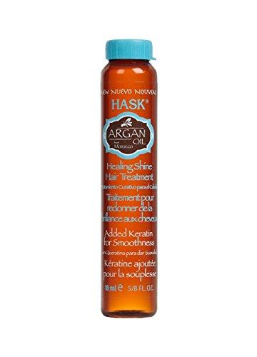 HASK Argan Reparing Shine Oil, 18 ml