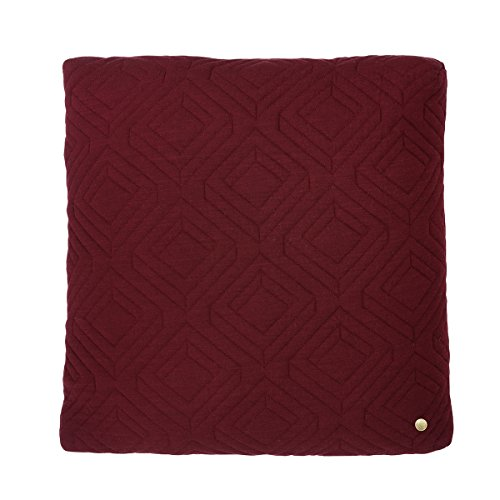 Quilt Cushion - Bordeaux - 45 x 45