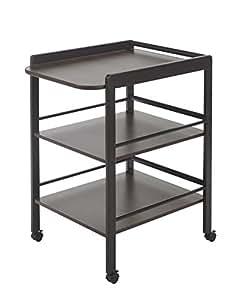 Geuther Table àLanger Clarissa Wengé - Plan à langer + 2 étagères