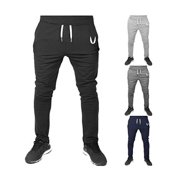 Chándal de Hombre Moda Pantalones de chándal Ropa Deportiva ... c7ee31fe30831