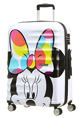 American Tourister - Disney Wavebreaker - Spinner Kindergepäck, 67 cm, 64 L, Minnie Close-Up