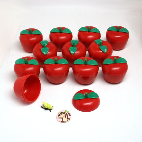 Toy Filled Plastic Bobbing Apples : package of 12 by FUN EXPRESS