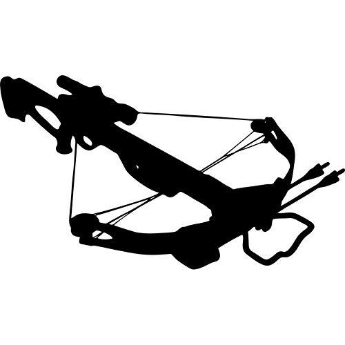 JAXA Armbrust Hirsch Zombie Jagd Walking Dead Aufkleber Adesivos De Parede Decoracao De Casa Übungswand Junge Wohnzimmer Tapete 60 cm x 35 cm
