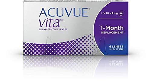 ACUVUE Vita Monatskontaktlinsen, 6 Stück / BC 8.4 mm / DIA 14 / -1.75 Dioptrien