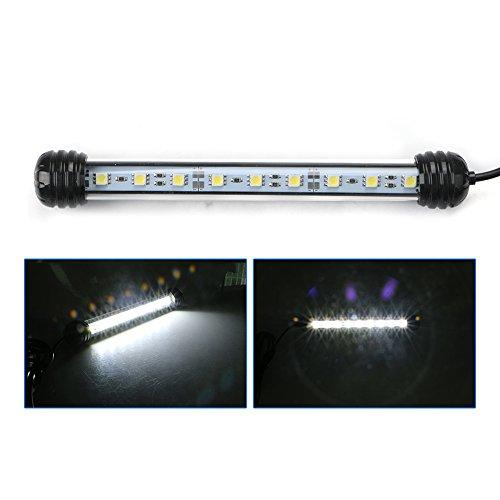 LED Aquarium Lichter, LED Aquarium Lichtleiste 21 LED Tauch Streifen Lampe Weiß EU Stecker von EBILUN