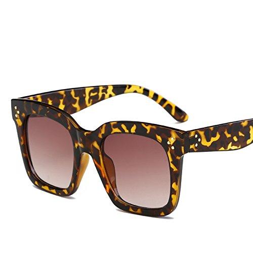 ANSKT Quadratische Sonnenbrille, 5UV 400 Outdoor-Sportbrillen polarisierte Sonnenbrillen Reitbrillen, geeignet zum Skifahren von Golf-Bikes beim Fischen mit Baseball