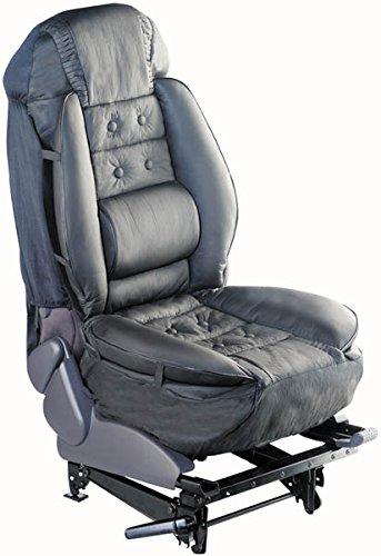 Ergonomische Sitzauflage, schwarz