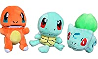 CARROT 3pcs/lot Pokemon, Plush Toys
