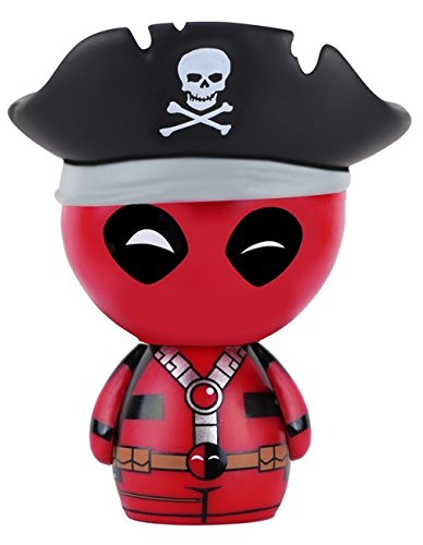 Deadpool Funko - Figurine Marvel - Pirate Dorbz 8cm - 0849803074944