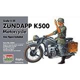 VULCAN Scale Models 56003 - Modellbausatz Zundapp K500 Motorcycle