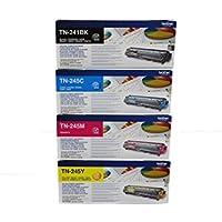 4x Toner SPARSET (BK,C,M,Y) Multipack ORIGINAL zu Brother DCP-9020 CDW / HL-3140 CW / HL-3150 CDN / HL-3150 CDW / HL-3170 CDW / MFC-9130 CW / MFC-9140 CDN / MFC-9330 CDW / MFC-9340 CDW, 1x black / schwarz, 2.500 Seiten, 1x rot / magenta, 1x blau / cyan, 1x gelb / yellow, für je 2.200 Seiten, ersetzt TN-241 BK, TN-245 C, TN-245 M, TN-245 Y