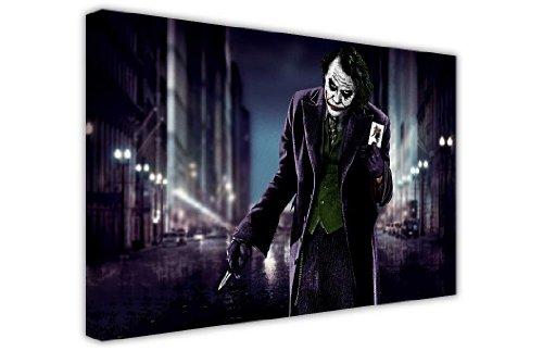 """Canvas it Up Druck auf Leinwand, Motiv Joker mit Spielkarte aus Batman, New Age / Pop Art, tolle Deko 8- A1 - 24\"""" X 30\"""" (60CM X 76CM)"""