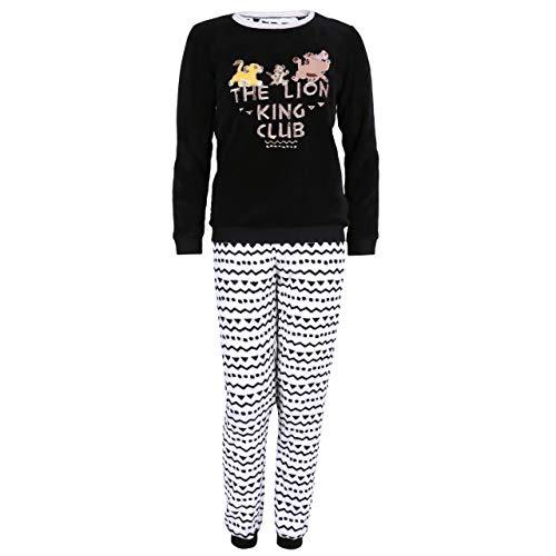 Schwarzes Disney's KÖNIG DER LÖWEN Pyjama - XL