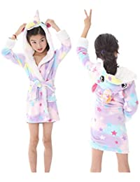 Ecommerce Trade Ltd - Pantalón de Pijama - para Niña Multicolor Star Licorne Âge 6-8