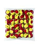Balles de Tennis Wilson, Starter Red, Paquet de 36, Jaune/Rouge, pour les Enfants, WRT13700B