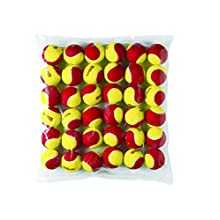 Wilson Tennis Balls, Starter Red, Pack of 36, Yellow/Red, for Children, WRT13700B