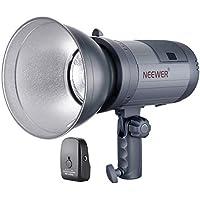 Neewer Flash Strobo da Studio da Esterno a Batteria a Litio (700 Lampi a Potenza Piena) con Sistema 2,4G (Trigger Incluso), Monoluce da 2kg per Riprese in Esterni, con Attacco Bowens