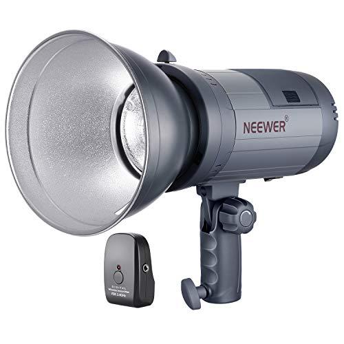 Neewer Batteriebetrieben (700 Volle Energie Blitzt) Studio Blitzlicht Strobe Li-Ionen-Akku mit 2.4G System (Trigger enthalten) 2 Kg Monolight für Ort-Aufnahme Bowens Montage 1 Studio Flash
