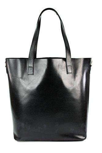 belli-ital-designer-leder-handtasche-shopper-schwarz-braun-rot-cognac-farbauswahl-32x36x15-cm-b-x-h-
