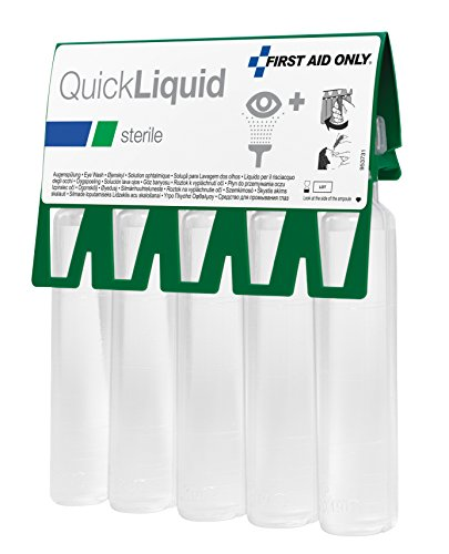 First Aid Seulement 20 ml quickliquid lave-œil Ampoules – Lot de 5