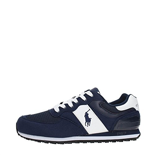 Polo Sport Ralph Lauren Slaton Pony Herren Sneaker Blau (Ralph Lauren Collection Schuhe)