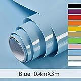 Hode Selbstklebende Klebefolie für Möbel,Küche,Kühlschrank,Wasserdicht Vinyl,40cmX300cm,Designfolie Selbstklebend
