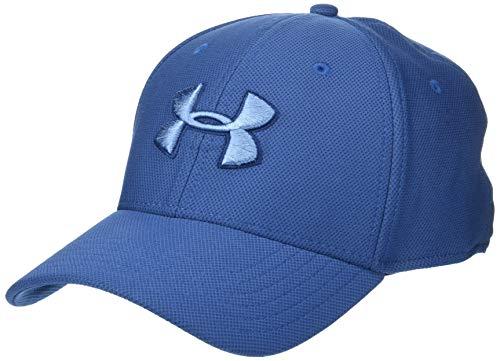 Kappe UA Blitzing 3.0, atmungsaktive Mütze mit Schirm, bequeme Cap für Männer mit integriertem Schweißband ()