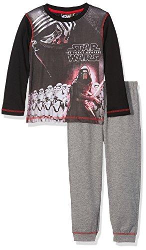 (Star Wars Jungen Zweiteiliger Schlafanzug R2D2, Schwarz (Black 19-1763TC), 7-8 (Herstellergröße: 8 Jahre))