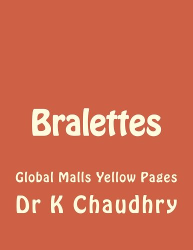Bralettes: Global Malls Yellow Pages (Bralette Print)