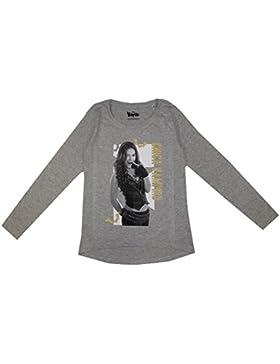 Chica Vampiro Tee Shirt Manga Larga gris talla de 6a 14años–6años, 8años, 10años, 12años, 14años