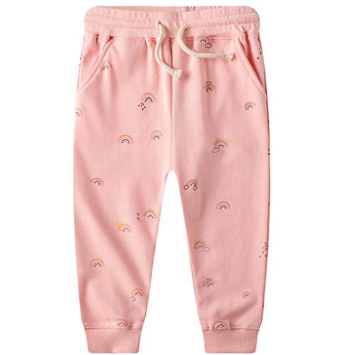 Pantalones Deportivos Niñas Niños Chándal Rosa