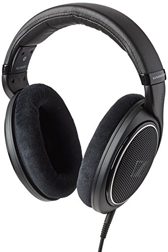 Sennheiser HD 598SR Cuffia Over-Ear con Smart Remote, Nero