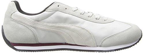 Puma Rio Speed â??â??Nylon Classique Sneaker Gray Violet/White/Zinfandel
