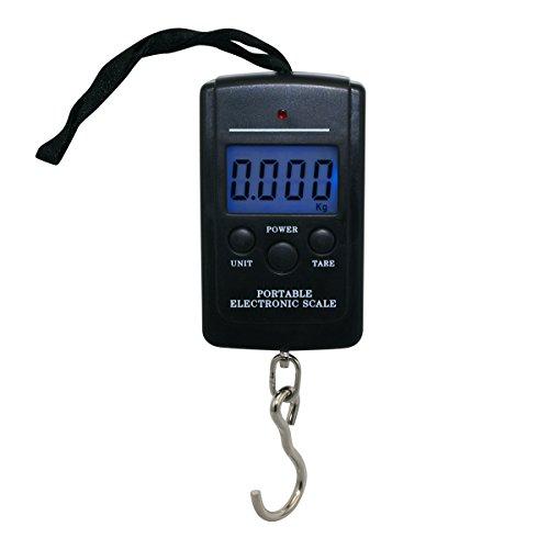 EZI Digital Scale Fischwaage Anglerwaage 10g-40kg Hängewaage Reiswaage