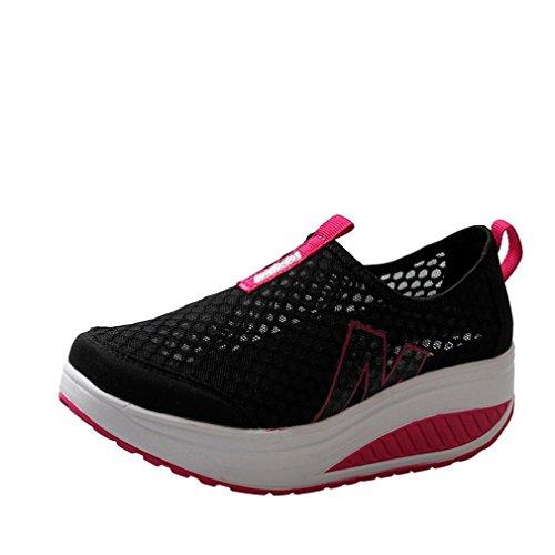Zapatos De Mujer,ZARLLE Mujer Adelgazar Zapatos Sneakers para Caminar Zapatillas Aptitud CuñA Plataforma...