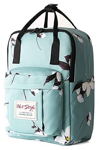 HotStyle BESTIE Macaron Mini Sac a dos Cartable Scolaire (30x22x14cm) - Magnolia Menthe