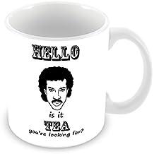 Lionel Richie Hello IS IT Tea You're Looking For en c?ramique Blanc Mug _ par ft