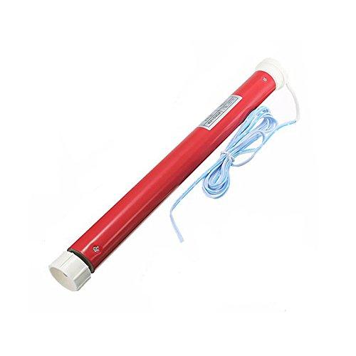 Rollerhouse mando a distancia para las ventanas motorizadas cortinas y persianas motor remoto Tubular de 25mm Rojo