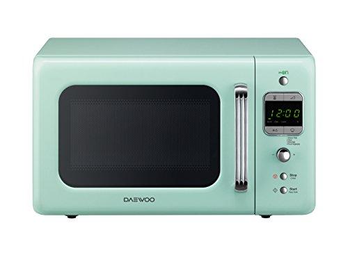 Daewoo kor-6lbm forno a microonde digitale, menta, 20 lt