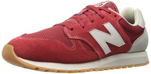 New Balance Männer 70er Jahre laufen U520V1 Classics Schuhe, 36 EUR - Width D, Tempo Red