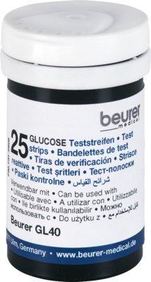 Beurer Gl40 Blutzuckerteststreifen 50 stk