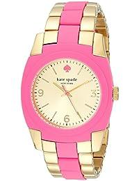 Kate Spade Relojes Mujer 1YRU0163 Gold Bazooka Pink Skyline Reloj