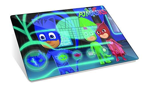 PJ Mask 045304504 - Alfombrilla de Escritorio, Color Verde, Azul y Rojo