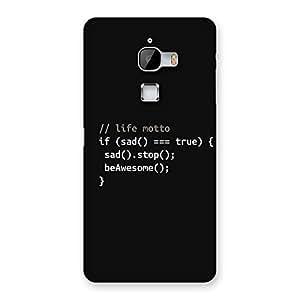 Impressive Programer Life Back Case Cover for LeTv Le Max