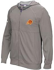 "Phoenix Suns Adidas 2016 NBA Men's On-Court ""Pre-Game"" Full Zip Hooded Jacket Veste"